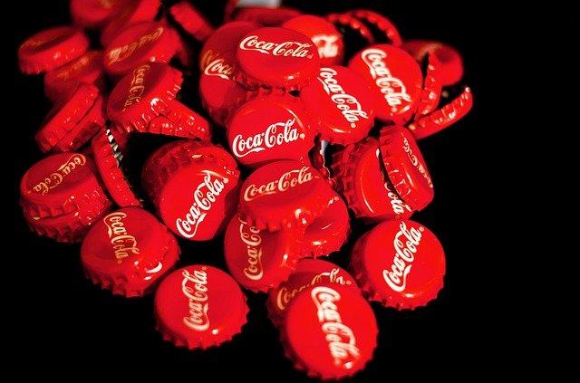 coca-cola víčka