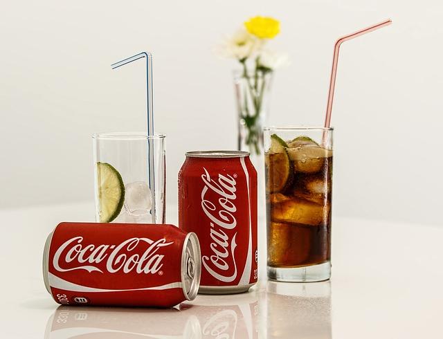 nápoj coca-cola