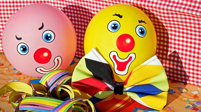 klauni na balonku