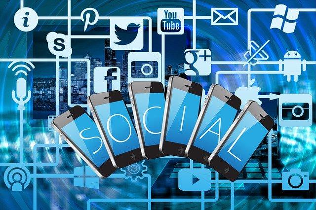 ilustrace propojení internetu