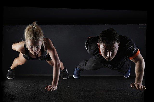 sportovní pár