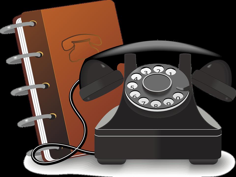 starý telefo